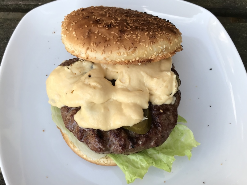 Cream Cheese Burger